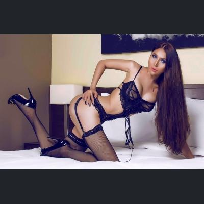 Transexual delightful model